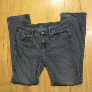 J JILL Authentic fit, slim boot cut jeans size 8